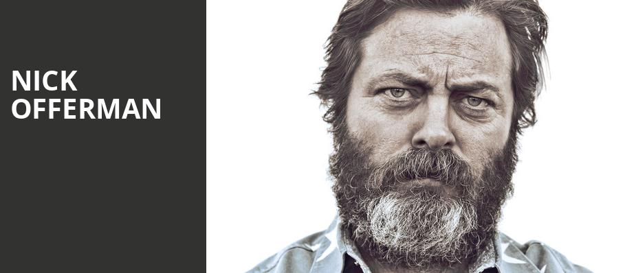 Nick Offerman, Celebrity Theatre, Phoenix