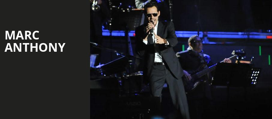 Marc Anthony, Talking Stick Resort Arena, Phoenix