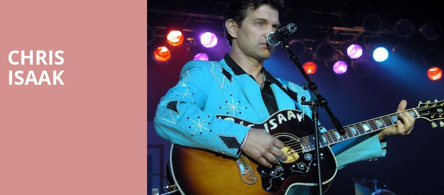 Chris Isaak, Ikeda Theater, Phoenix