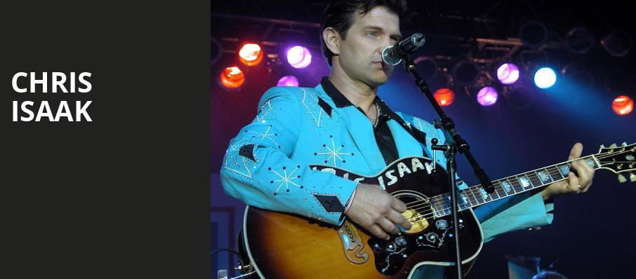Chris Isaak, Celebrity Theatre, Phoenix